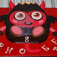 Little Devil - Moshi Monster Diavlo by CakeXcellence