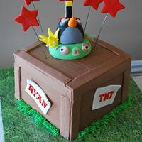 Angry Birds TNT Cake!