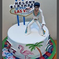 Elvis,  Vegas cake