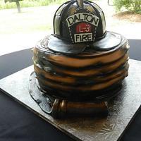 Fireman's Grooms Cake
