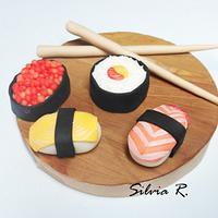 sushi topper