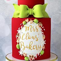 Mrs Claus' Bakery Cake Tutorial