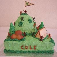 Army Mountain Cake