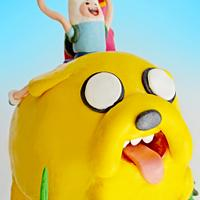 …& other Adventure Time cake!!