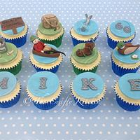 Cupcakes for Fisherman Mike