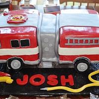 Firetruck Birthday! by Cakewalk