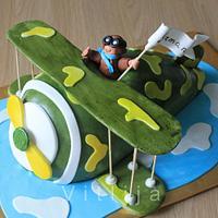 airplain cake