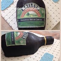 Bailey Bottle Cake