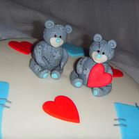 Me To You Bears Birthday Cake