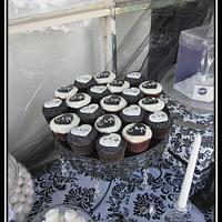 Black & White Wedding by CathyC
