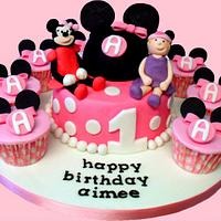 Aimee's Minnie Mouse 1st Birthday