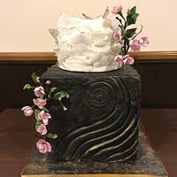 Sugar Art Cake- Master class by Zlatina Lewis