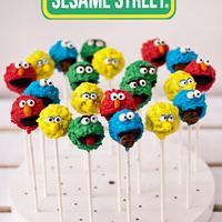 Sesame Street Cake Pops by AysemOztas