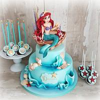 La Sirenita Ariel by Cristina Sbuelz