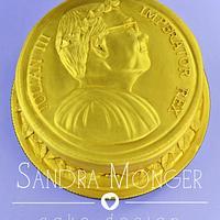 Roman Coin Cake