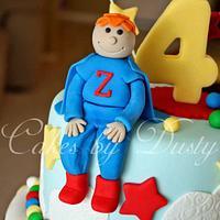 Superhero Cake by Dusty