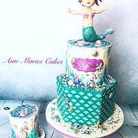 Mermaid 1st Birthday
