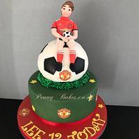 Football cake for Lee!