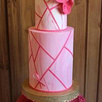 Pink october cake