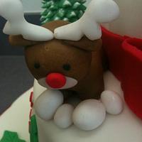 Christmas Cake by Saranya Thineshkanth