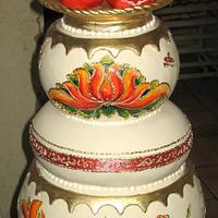 Pomegranate cake by Svetlana