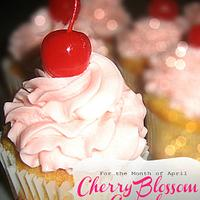 Cherry Blossom Cupcakes by Enticing Cakes Inc.