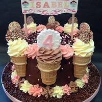 Easy Peasy Ice cream Cake!