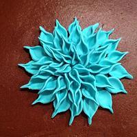 Blue Dahlia by Dawn Henderson