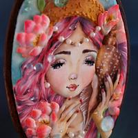 Genevieve, The Mermaid - Under The Sea Sugar Art Collaboration