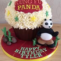 Kung Fu Panda Giant Cupcake