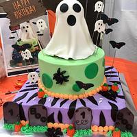 Boo Birthday Cake