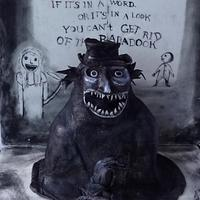 Mr Babadook - Cakes That Go Bump In The Night collaboration