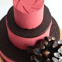 'Wuthering Heights'-A3 tier Entremet