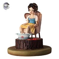 SNOW WHITE - DISNEY DEVIANT SUGAR ART