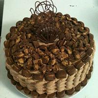 Peanut Butter Cake by lynnda