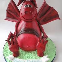Welsh Dragon Cake