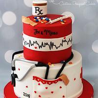 Nurses Grad Cake