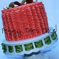 Another Ruffle Cake by Peggy Does Cake