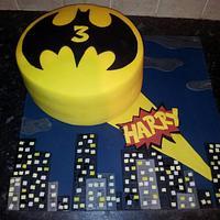 Batman cake by Christie Storey
