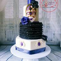 Venetian Carnival Cake Collaboration