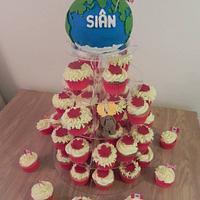 Moving to Canada globe cake