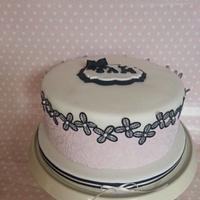 my sisters birthday cake