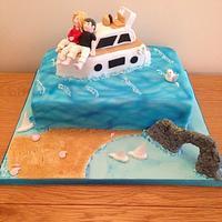 Dorset Coast Cake