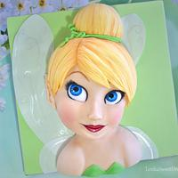 Tinker Bell cake.