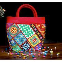 Candy Kutch work Bag