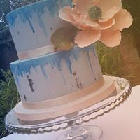 Art Inspired Wedding Cake