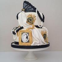1920s cake for 40th bday
