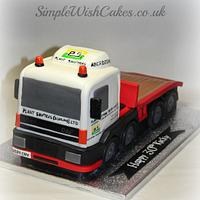 Plant Shifters Lorry