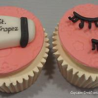 Glamourous Girly Cupcakes by Cupcakecreations