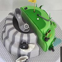 Shoe & Golfing Birthday